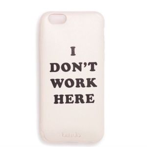 New ban.do Phone Case I Don't Work Here